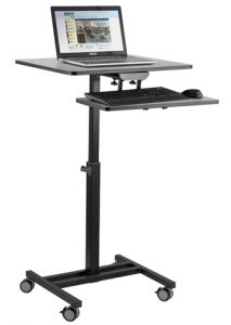 Oklahoma Sound EduTouch Sit & Stand Presentation Cart