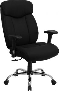 Ares Series 400 LB Capacity Big & Tall Executive Swivel Chair with Arms