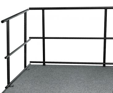 """NPS 48"""" W Guard Rails for Stages"""