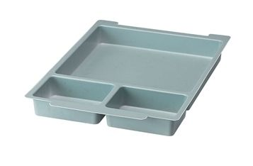 6 Pack Gratnells Molded Type A 3 Section Insert for F1 Trays