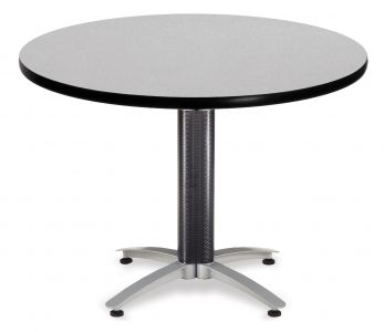 OFM Round Metal & Mesh Base Multi-Purpose Cafe Table