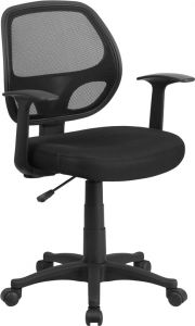 Trent Series Mesh Swivel Task Chair with Arms