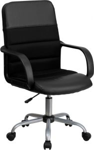 Trent Series Leather & Mesh Task Chair