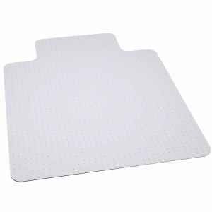 "Big & Tall 400 lb Capacity Carpet Mat with Lip - 36"" L x 48"" W"