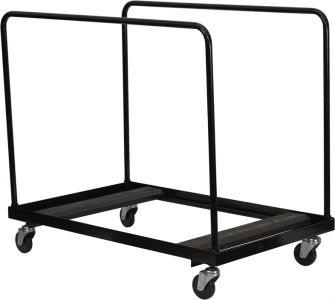 """Black Folding Table Dolly for Up To 60"""" Round Tables"""