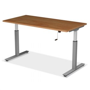GOGO® Active Sit-Stand Desk with Crank Lift Adjustable Height