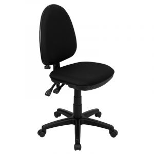 Mid-Back Multi-Functional Ergonomic Task Chair with Adjustable Lumbar Support