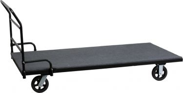 Carpeted Folding Table Dolly for Rectangular Tables