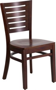 HUSKY Seating® Walnut Wooden Restaurant Chair