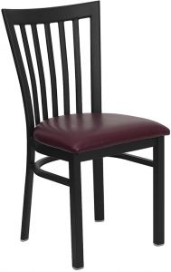 HUSKY Seating® School House Back Metal 500 LB Restaurant Chair
