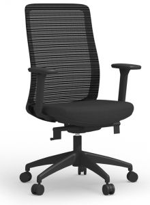 Cherryman Zetto Task Chair with Adjustable Arms, Seat Slider, & 5 Locking Positions