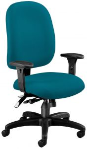 Ergonomic Adjustable Computer Task Chair with Arms by OFM