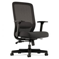 Basyx by Hon Ergonomic Black Mesh & Fabric Office Chair