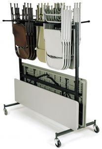 NPS 84 Series Folding Chair & Table Storage Truck