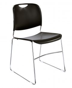 4 PACK NPS 8500 Series Ultra-Compact Commercial Stack Chair