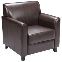 Dignify Series Leather Reception Chair