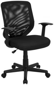 Trent Series Mid Back Task Chair with Padded Seat