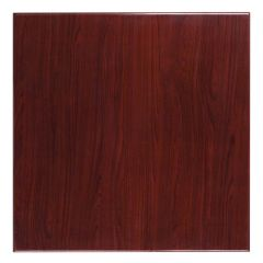 Pro-Tough Commercial Square Resin Mahogany Table Top