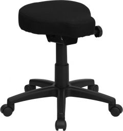 Saddle Seat Utility Stool with Adjustable Height & Angle