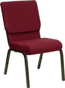 HUSKY Seating® 800 LB Heavy Duty Stacking & Ganging Auditorium Chair - Gold Vein