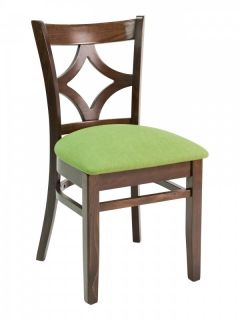 Florida Seating CON-02S Diamond Back Wood Restaurant Chair