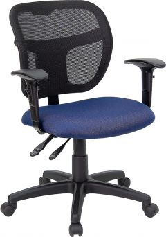 Ergonomic Mid-Back Mesh Task Computer Chair with Arms & Lumbar Support