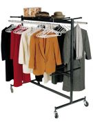 NPS 84 Series Folding Chair Dolly & Coat Rack Combo