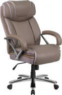 Pro-Tough 500 lb Capacity Big & Tall Leather Executive Chair